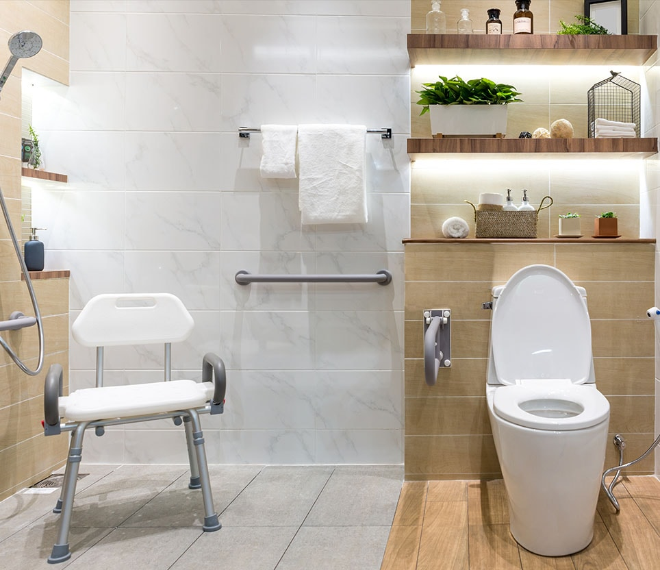 Bathroom Safety Products for Seniors & Elderly