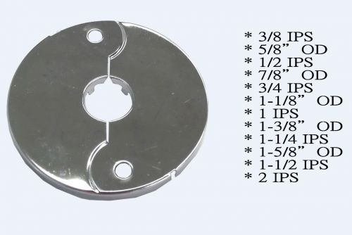 Floor and Ceiling Plate Flange