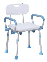 Quick-Released Shower Chair with Back