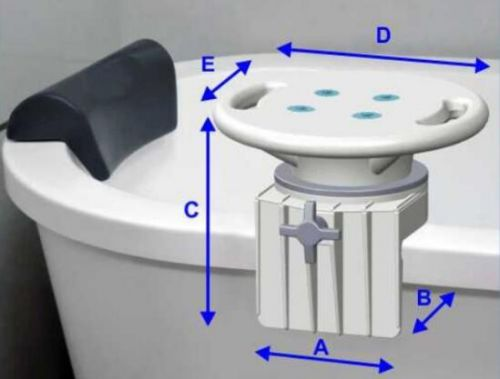 Rotating Bathtub Seat with Assisting Handle