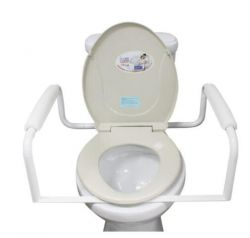 Toilet Assisting Frame Rails, Toilet Support Frame for Disabled