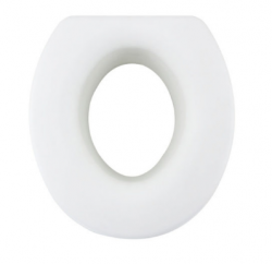 4.9 Elevated Raised Toilet Seat - Round Type
