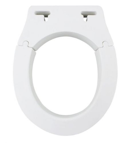 Removable Elevated Raised Toilet Seat - Round Type